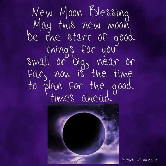 New Moon Blessing
